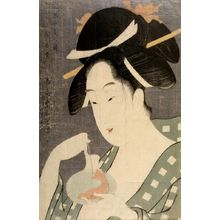 Hosoda Eishô: CONTEST OF TEA HOUSE BEAUTIES,
