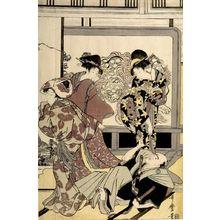 Kitagawa Utamaro: Housecleaning (Susuhaki), Late Edo period, circa 1797-1799 - Harvard Art Museum