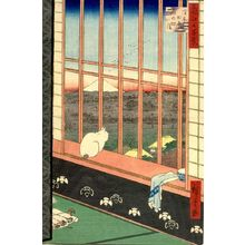歌川広重: Asakusa Ricefields and Torinomachi Festival (Asakusa tambo Torinomachi môde), Number 101 from the series One Hundred Famous Views of Edo (Meisho Edo hyakkei), Edo period, dated 1857 (11th month) - ハーバード大学