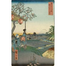 Utagawa Hiroshige: THIRTY-SIX VIEWS OF FUJI,