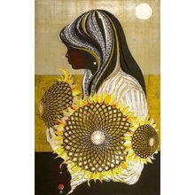 Nakayama Tadashi: Summer Afternoon (Natsu no gogo), Shôwa period, dated 1969 - Harvard Art Museum