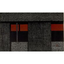 Asai Kiyoshi: Wall of Kyoto (B), Shôwa period, dated 1960 - Harvard Art Museum