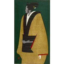 Asai Kiyoshi: Bunraku (A), Shôwa period, dated 1959 - Harvard Art Museum