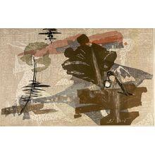 高橋力雄: Nostalgia of Kyoto (Kyoto e no omoi), Shôwa period, circa 1960s - ハーバード大学