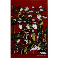渡辺貞夫: Visit of the Wisemen to the Stable, Shôwa period, dated 1962 - ハーバード大学