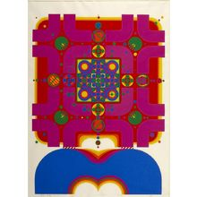 北岡文雄: Constellation 73-8, Shôwa period, circa 1970s - ハーバード大学