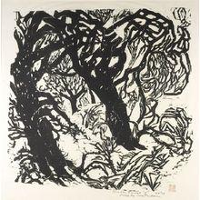 松原直子: Winter Forest I, Shôwa period, circa 1967-1968 - ハーバード大学