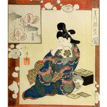 魚屋北渓: HISHIKAWA MORONOBU'S SKETCH OF A GIRL OF THE GENR OKU PERIOD - ハーバード大学