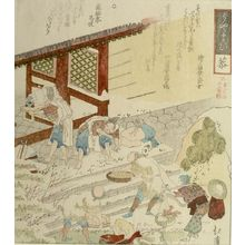 Totoya Hokkei: EIGHTEEN OLD ADDAGES, TAKING GIFTS TO THE TEMPLE. - Harvard Art Museum