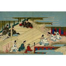 Totoya Hokkei: The Emperor Listening to Musicians - Harvard Art Museum