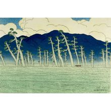 Ito Shinsui: Awazu, from the series Eight Views of Lake Biwa (ômi hakkei), Taishô period, dated 1917 - Harvard Art Museum