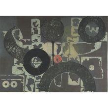 Yoshida Hodaka: Stones and a Man, A, Shôwa period, dated 1956 - ハーバード大学
