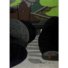 朝井清: Shisendo, Kyoto (B), Shôwa period, 1963 - ハーバード大学
