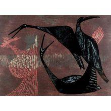 Shima Tamami: Birds, Shôwa period, dated 1959 - Harvard Art Museum