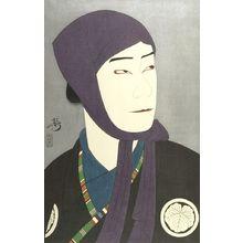 吉川観方: Actor Nakamura Ganjirô as Kamiya Jihei, Taishô period, circa 1922 - ハーバード大学