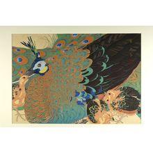 Tsuchiya Rakuzan: Peahen and Chicks - ハーバード大学