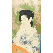 Hashiguchi Goyo: Hotspring Inn (Onsen Yado) (posthumous edition circa 1922 by Taguchi Kitsumatsu), Taishô period, 1920 - Harvard Art Museum