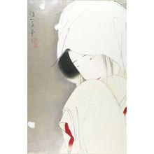 北野恒富: Woman in Snow (Sagi musume), Taishô period, - ハーバード大学