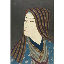 吉川観方: Kabuki Actor Nakamura Ganjirô as Kamiya Jihei, Taishô period, circa 1922 - ハーバード大学