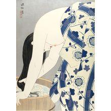 伊東深水: Hair (Kami), Shôwa period, dated 1953 - ハーバード大学