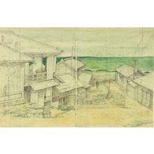 Kawase Hasui: Cloudy Day in Mito, Shôwa period, dated 1946 - Harvard Art Museum