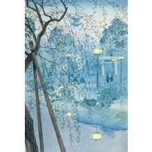 Kasamatsu Shiro: Shinobazu Lake in Tokyo, Shôwa period, dated 1932 - Harvard Art Museum