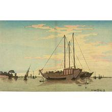 小林清親: Fine Day (Tsukuda ryôsei), Meiji period, - ハーバード大学