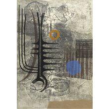 Fujita Fumiaki: Abstraction, Shôwa period, dated 1963 - Harvard Art Museum