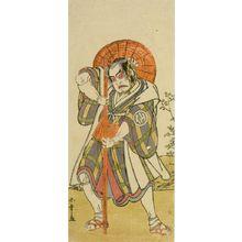 Katsukawa Shunsho: Actor Nakamura Sukegorô 1ST - Harvard Art Museum