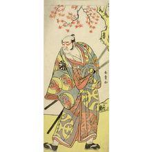 勝川春章: Actor Nakamura Denkûrô 2nd, Edo period, 1783 - ハーバード大学