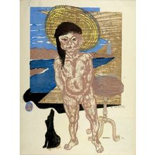 Sekino Jun'ichiro: Child of the Sea, Shôwa period, dated 1940 - Harvard Art Museum