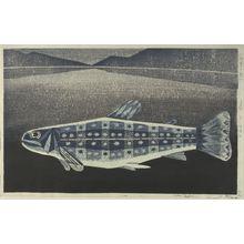 Katô Yasu: Fish of Akan, Shôwa period, dated 1961 - Harvard Art Museum