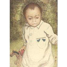 Yoshida Hiroshi: Portrait of a Boy (Kodomo), Shôwa period, dated 1927 - Harvard Art Museum