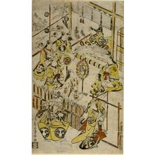 鳥居清倍: Kabuki Actors' Party, Edo period, circa 1715 - ハーバード大学