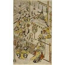 Torii Kiyomasu I: Kabuki Actors' Party, Edo period, circa 1715 - Harvard Art Museum