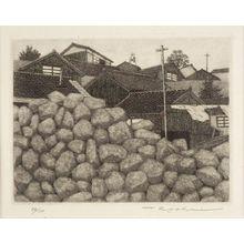 Tanaka Ryôhei: Village of Light Houses, Shôwa period, circa 1970s - Harvard Art Museum