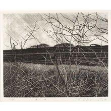 Okamoto Shogo: Distant Treetops (Tôi kozue), Shôwa period, dated 1973 - ハーバード大学