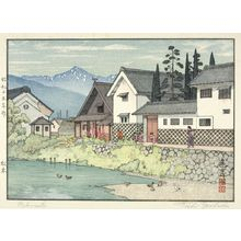 Yoshida Toshi: Matsumoto, Shôwa period, dated 1940 - Harvard Art Museum