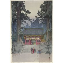 Yoshida Hiroshi: Tôshôgu Shrine, Nikkô, Shôwa period, dated 1937 - Harvard Art Museum