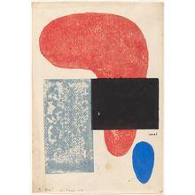 恩地孝四郎: Wakai seidai (Young generation), 1951 - ハーバード大学