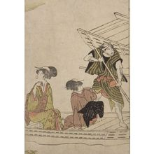 Utagawa Toyohiro: Boaters Watching a Fight - Harvard Art Museum