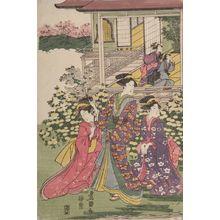 Utagawa Toyokuni I: Scene from the play