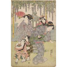 Utagawa Kunisada: Women and Children - Harvard Art Museum