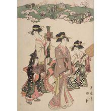 喜多川月麿: Buyô Asukayama Shôkei - ハーバード大学
