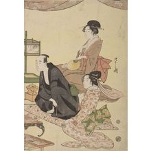 Hosoda Eishi: Banquet Scene with Optical Device - Harvard Art Museum