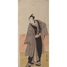 Katsukawa Shunsho: Actor ___ as ___ in the play Hatsumombi Kuruwa Soga, performed at the Nakamura Theater from the second month of 1780, Edo period, 1780 (2nd month) - Harvard Art Museum