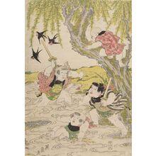 Keisai Eisen: Children Playing (Kodomo asobi) - Harvard Art Museum