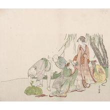 Tawaraya Sôri: The Picnic Under the Willow Tree - ハーバード大学