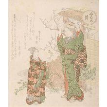 Ryuryukyo Shinsai: Yellow (Ki), from the series The Five Colours (Goshiki no uchi) - Harvard Art Museum