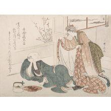 Ryuryukyo Shinsai: The Solicitous Wife - Harvard Art Museum